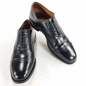 Allen Edmonds Byron Cap Toe Leather Dress Oxfords
